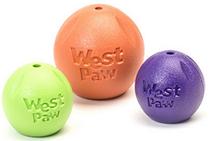 West Paw Zogoflex Rando / Игрушка Вест По Зогофлекс для собак Мячик D9 см