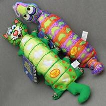 """Fat Cat Water Bottle Crunchers Toy / Игрушка Фэт Кэт мягкая для собак """"Зверушка с хрустящей бутылкой внутри"""" Большая"""