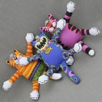 """Fat Cat Terrible Nasty Scaries Toy Mini / Игрушка Фэт Кэт мягкая для собак """"Злобный кот"""" Маленькая"""
