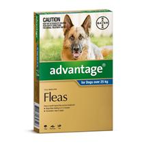 Bayer Адвантейдж / Капли на холку от Блох для собак весом более 25 кг