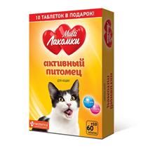 Multi Лакомки / Витаминное лакомство Мульти Лакомки для кошек Активный питомец