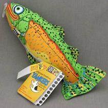 "Fat Cat Incredible Strapping Yankers Toy / Игрушка Фэт Кэт мягкая для собак ""Рыба"" Большая"