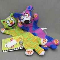"""Fat Cat Flip Flop Yankers Toy / Игрушка Фэт Кэт мягкая для собак """"Перетяжка прочная"""" Маленькая"""
