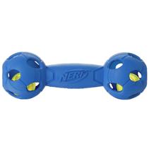 Nerf Dog / Игрушка Нёрф Дог для собак Гантель светящаяся