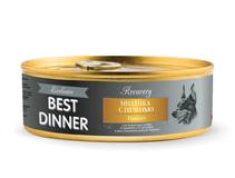 Заказать Best Dinner Exclusive Recovery / Консервы для собак Индейка с печенью Паштет Цена за упаковку по цене 1590 руб