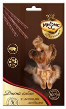 Мнямс Деликатес Лакомство для собак Дикий кабан с лесными ягодами