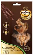 Мнямс Деликатес Лакомство для собак Оленина с яблоками