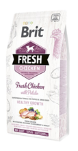 Brit Fresh Puppy Chicken with Potato / Сухой корм Брит для Щенков Курица картофель