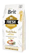 Brit Fresh Adult Great Life Chicken with Potato / Сухой корм Брит для взрослых собак Курица картофель