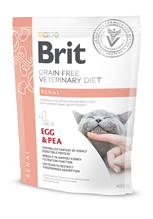 Brit Veterinary Diet Grain free Renal / Ветеринарный сухой Беззерновой корм Брит для кошек при заболеваниях Почек