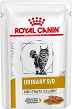 Royal Canin Urinary S / O Moderate Calorie / Ветеринарный влажный корм (Консервы-Паучи) Роял Канин Уринари для кошек после кастрации/стерилизации или при предрасположенности к избыточному весу при лечении мочекаменной болезни