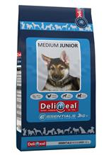 Delimeal Essentials Medium Junior / Сухой корм Делимил для Щенков Средних пород Курица