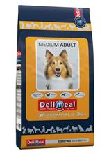 Delimeal Essentials Medium Adult / Сухой корм Делимил для взрослых собак Средних пород Курица