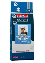 Delimeal Expert Medium Junior / Сухой корм Делимил для Щенков Средних пород Птица