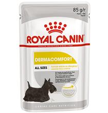 Royal Canin Dermacomfort / Влажный корм (паштет) Роял Канин Дермакомфорт для собак всех размеров Снижение риска Аллергии (цена за упаковку)