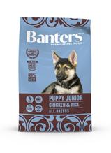 Banters Puppy Junior Chicken & Rice / Сухой корм Бантерс для Щенков всех пород, для беременных и кормящих собак Курица рис