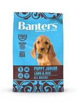 Banters Puppy Junior Lamb & Rice / Сухой корм Бантерс для Щенков всех пород, для беременных и кормящих собак Ягненок рис