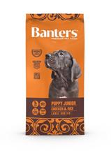 Banters Puppy Junior Large Chicken & Rice / Сухой корм Бантерс для Щенков Крупных и Гигантских пород до 15 месяцев, для беременных и кормящих собак Курица рис