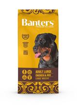 Banters Adult Large Chicken & Rice / Сухой корм Бантерс для взрослых собак Крупных и Гигантских пород от 15 месяцев Курица рис