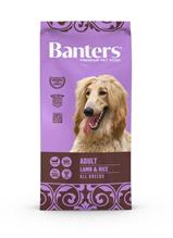 Banters Adult Lamb & Rice / Сухой корм Бантерс для взрослых собак Средних пород (11-25 кг) от 12 месяцев до 10 лет Ягненок рис