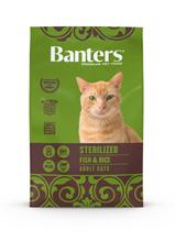Banters Sterilized Fish & Rice / Сухой корм Бантерс для взрослых Стерилизованных кошек и кастрированных котов от 12 месяцев и старше Рыба рис