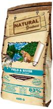Natural Greatness Field & River Recipe / Сухой Гипоаллергенный корм Нэчерал Грейтнес для взрослых кошек