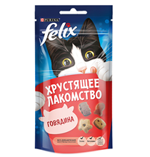 Felix Хрустящее лакомство / Лакомство Феликс Говядина