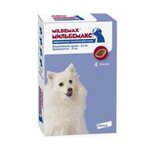 Заказать Elanco Мильбемакс антигельминтик для собак Жевательные таблетки (1 таблетка / 1-5кг) по цене 620 руб