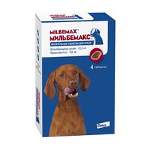 Заказать Elanco Мильбемакс антигельминтик для собак Жевательные таблетки (1 таблетка / 5-25кг) по цене 930 руб