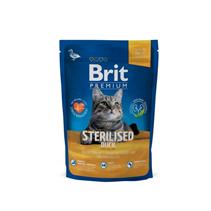 Brit Premium Sterilised Duck / Сухой корм Брит Премиум для Стерилизованных кошек Утка, курица и куриная печень