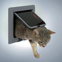 Заказать Trixie / Дверца Трикси для кошек с 4 функциями 16,5 х 17,4 см по цене 1080 руб