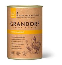 Grandorf Duck & Turkey / Консервы Грандорф для взрослых собак Утка с Индейкой (цена за упаковку)