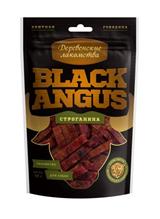 Заказать Деревенские лакомства Black Angus Строганина из говядины для собак по цене 140 руб