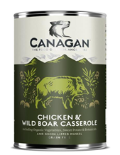 Canagan Chicken & Wild boar Сasserole / Полнорационные Беззерновые консервы Канаган для собак Тушеная курица и дикий кабан (цена за упаковку)