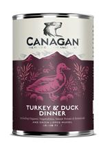 Заказать Canagan Turkey & Duck Dinner / Полнорационные Беззерновые консервы для собак Индейка и Утка к ужину Цена за упаковку по цене 1533 руб
