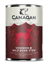 Canagan Venison & Wild Boar Stew / Полнорационные Беззерновые консервы Канаган для собак Рагу из Оленины и дикого кабана (цена за упаковку)