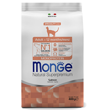 Monge Cat Adult Salmon / Сухой корм Монж для Взрослых кошек Лосось
