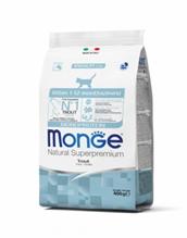 Monge Kitten Monoprotein / Сухой корм Монж Монопротеиновый для Котят Форель