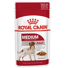 Royal Canin Medium Adult / Влажный корм (Паучи) Роял Канин Медиум Эдалт для Взрослых собак Средних пород от 12 месяцев до 10 лет (Цена за упаковку)