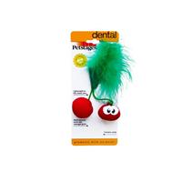 Petstages Dental Cherries Red / Игрушка Петстейджес для кошек Вишни с кошачьей мятой