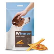 Заказать Winner / сухое лакомство для собак всех пород Говяжья полоска по цене 100 руб