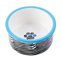 КерамикАрт / Миска керамическая для собак Зебра