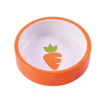 КерамикАрт / Миска керамическая для грызунов с Морковью 70 мл