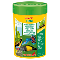 Заказать Sera Flora / Корм для рыб Растительный в хлопьях по цене 200 руб