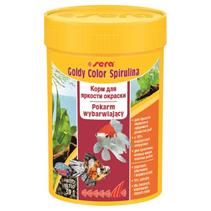 Sera Goldy Color Spirulina / Корм Сера для Золотых рыб в гранулах Улучшает окраску