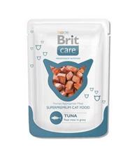 Brit Care Tuna / Паучи Брит для кошек Тунец (цена за упаковку)