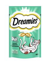 Dreamies / Лакомство Дримис для кошек Подушечки с Кроликом