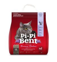 Pi-Pi-Bent / Наполнитель для кошачьего туалета ПиПиБент Нежный Прованс Комкующийся