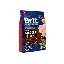 Brit Premium by Nature Adult L / Сухой корм Брит Премиум для взрослых собак Крупных пород