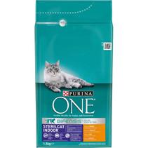 Purina One / Сухой корм Пурина Уан для Стерилизованных Домашних кошек Курица и цельные злаки